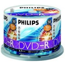 Диски Philips DVD-R 4.7GB 16X