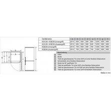 Külmik BOSCH KGV39VL33 (EEK: A++)