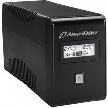 UPS PowerWalker LINE-INTERACTIVE 650VA 2X...