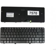 Qoltec HP DV4-1000 BLACK klaviatuur