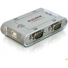 Delock Seriell-Hub 4-Port 1x USB -> 4x...