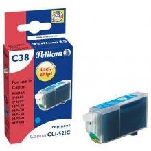 Тонер Pelikan C38 Tinte голубой