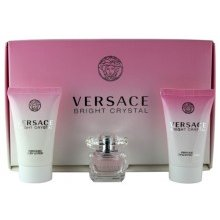 Versace Bright Crystal Set (EDT 5ml + лосьон...