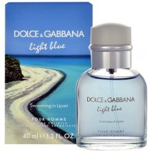 Dolce & Gabbana Light Blue Swimming in...