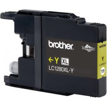 Tooner BROTHER tint LC1280XLY kollane | 1200...