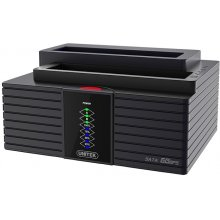 Unitek Dual HDD USB 3.0. docking station +...