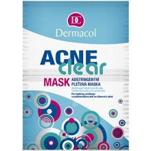 Dermacol AcneClear 16g - Face Mask naistele...