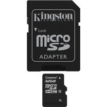 Флешка KINGSTON MicroSDHC 32Gb
