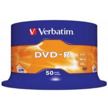 Диски Verbatim 1x50 DVD-R 4,7GB 16x Speed...