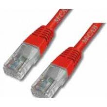Mcab CAT6-U / UTP-PVC-1.00M-красный