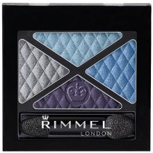 Rimmel London Glam Eyes Quad 002 Smoke Brun...