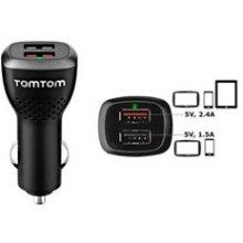Tomtom Dual Fast akulaadija