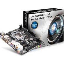 Emaplaat ASRock H81M-ITX Sockel 1150 M-ITX
