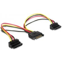 Gembird kaabel power SATA 15 pin -> 2x SATA...