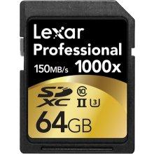 Флешка Lexar SDXC Card 64GB 1000x...