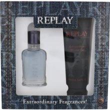 Replay Jeans Spirit, EDT 30 ml + гель для...