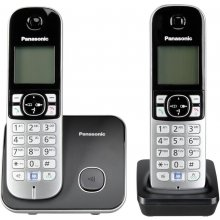 Telefon PANASONIC KX-TG6812GB black