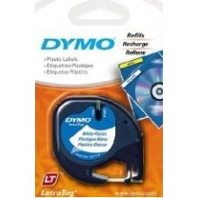 Dymo 12mm LetraTAG Plastic tape, Polyester...