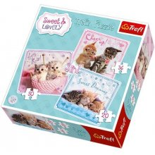 TREFL 3in1 Sweet & Lovely Sweet cats