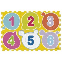 CHICCO Soft mat figure puzzle