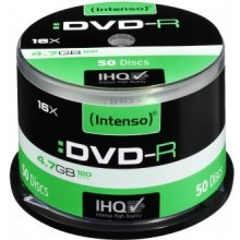 Диски INTENSO DVD-R [ cake box 50 | 4.7GB |...